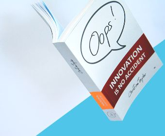 OUT NOW! «Oops! Innovation ist kein Zufall» von Christina Taylor.